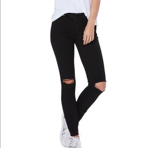 Transcend Verdugo Ripped Ankle Skinny Jeans